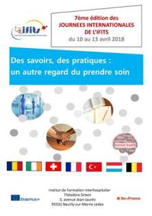Affiche journées internationales Ifits