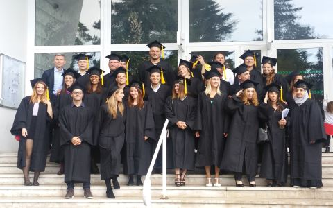 Etudiants IADE diplomes promotion 2017-2019