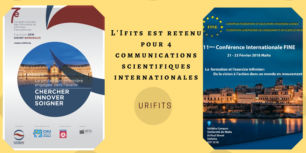 Scientific communications at two world congresses