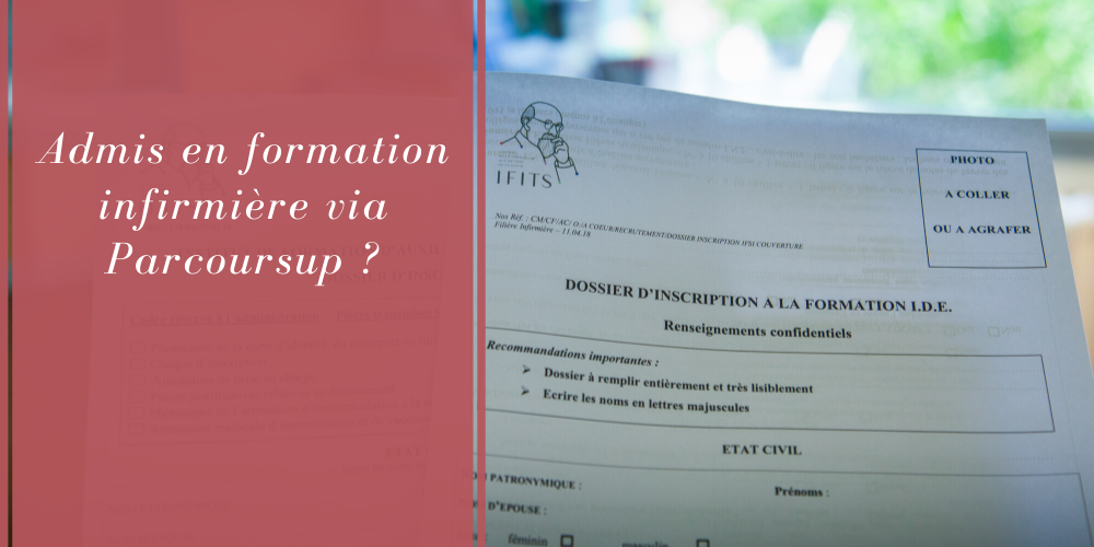 Admission en IFSI via Parcoursup
